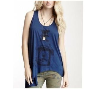 Free People magic potion waterfall graphic top